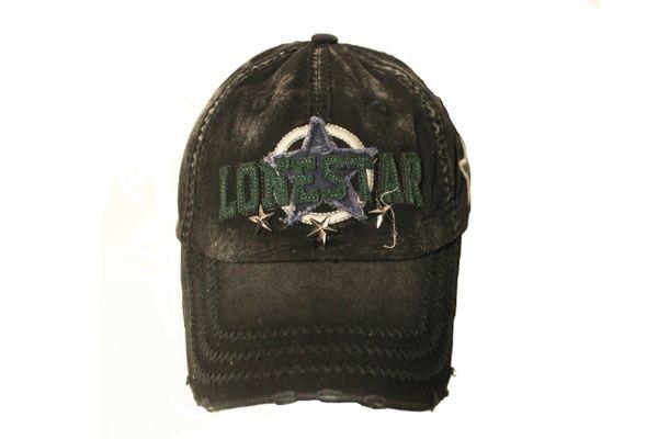LONESTAR VINTAGE HAT CAP ..Colors : Black , Navy , Burgundy