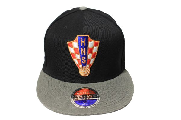 CROATIA Country Flag , HNS Logo SNAPBACK Embroidered HIP HOP Hat Cap