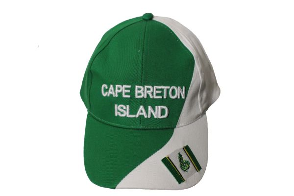 CAPE BRETON ISLAND Flag , CANADA Embroidered HAT CAP