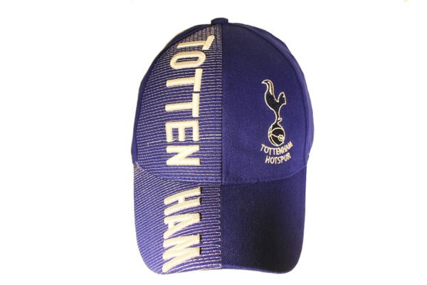 TOTTENHAM Soccer Team With Logo Embossed HAT CAP