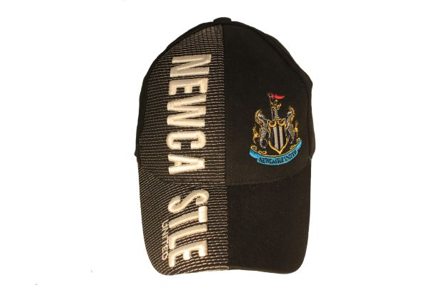 NEWCASTLE UNITED Soccer Team With Logo Embossed HAT CAP