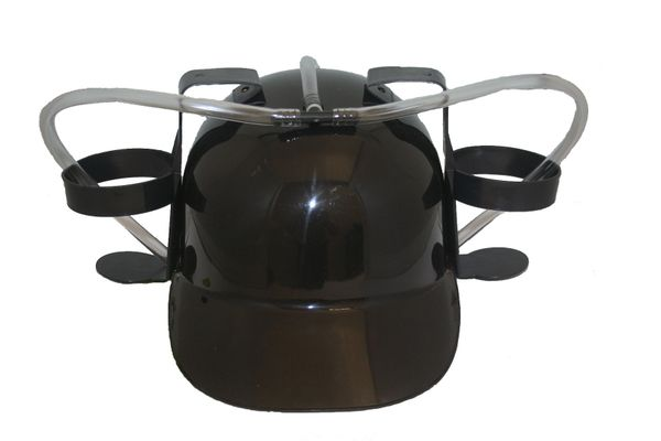 BLACK DRINKING HAT .. FOR ADULTS & KIDS .. HIGH QUALITY .. NEW