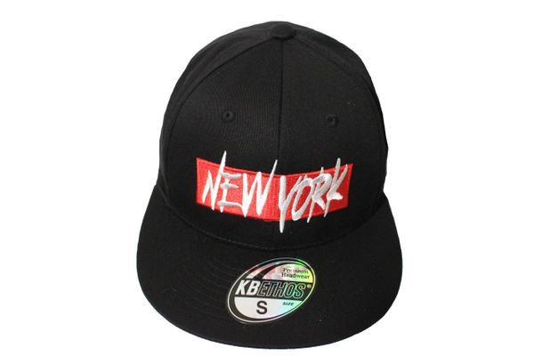 NEW YORK Black HIP HOP HAT Cap ..Size : S , M , L