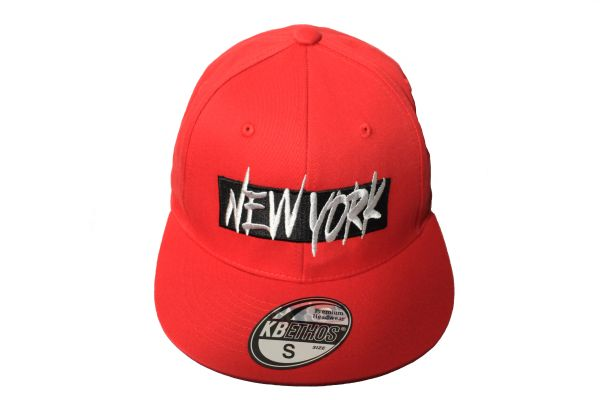 NEW YORK Red HIP HOP HAT Cap ..Size : S , M , L