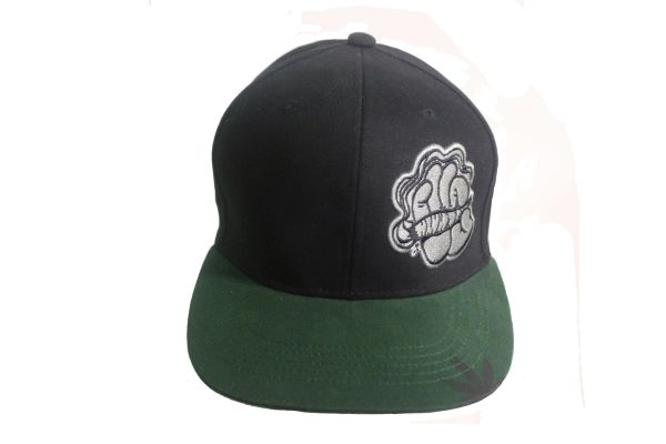 ROLL & LIGHT & SMOKE Embroidered HIP HOP Hat Cap
