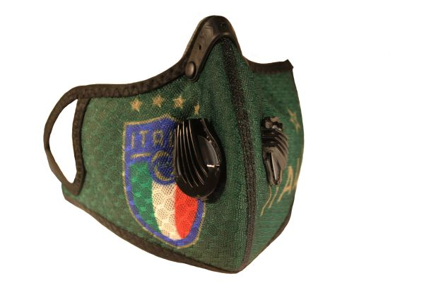ITALIA ITALY FIGC Logo , 4 Stars FACE COVERING..New