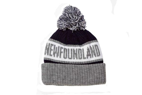 NEWFOUNDLAND - CANADA Province WINTER HAT With POM POM