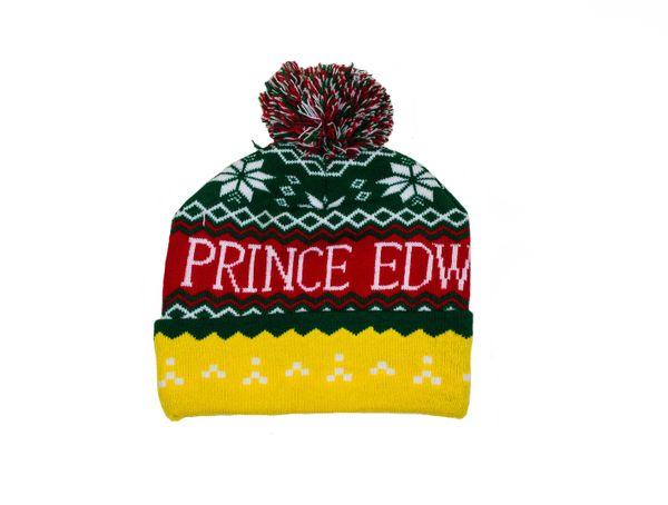 PRINCE EDWARD ISLAND - CANADA Province WINTER HAT With POM POM ..( PEI TQ3 - 1 )