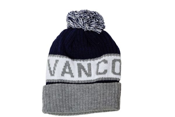 VANCOUVER - CANADA Province WINTER HAT With POM POM ..( CDA-TQ24-VAN-1 )