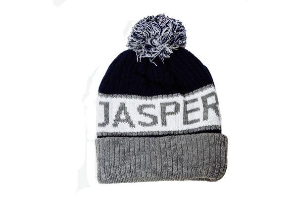 JASPER - CANADA Alberta' Town WINTER HAT With POM POM..( CDA-TQ24-JAS-2 )