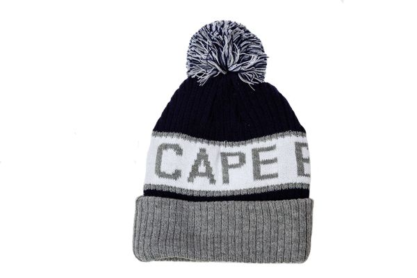 CAPE BRETON ISLAND - CANADA NOVA SCOTIA Province WINTER HAT With POM POM