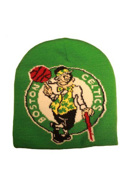 BOSTON CELTICS NBA Basketball Club Logo Green BEANIE TOQUE Hat