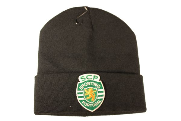 S C P SPORTING PORTUGAL Football Logo Iron - On PATCH TOQUE HAT