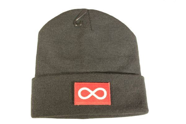 METIS First Nations RED Flag Iron - On PATCH TOQUE HAT