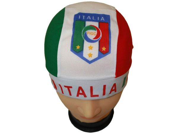 ITALIA ITALY COUNTRY FLAG FIGC LOGO FIFA SOCCER WORLD CUP DOO RAG HAT .. NEW