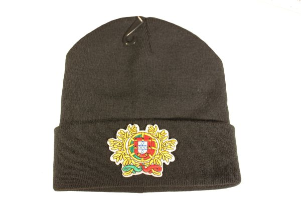 PORTUGAL LEAF Country Flag Logo Iron - On PATCH TOQUE HAT