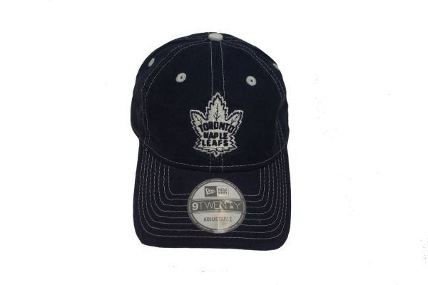 TORONTO MAPLE LEAFS NAVY NHL HOCKEY OLD LOGO HAT CAP .. NEW