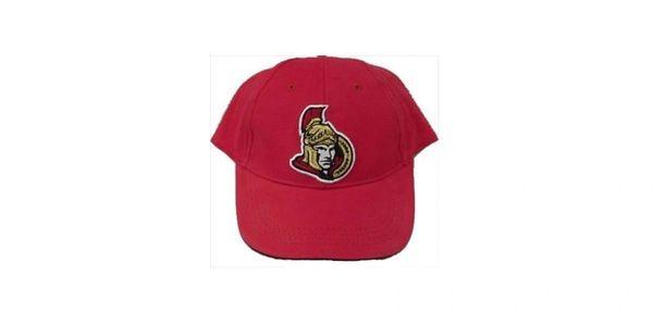 OTTAWA SENATORS RED NHL HOCKEY LOGO HAT CAP .. NEW