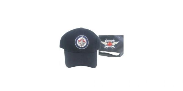 WINNIPEG JETS BLUE NHL HOCKEY LOGO HAT CAP .. NEW