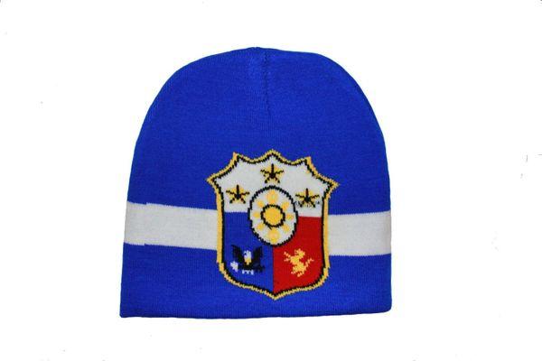 PHILIPPINES BLUE WHITE TOQUE HAT .. NEW