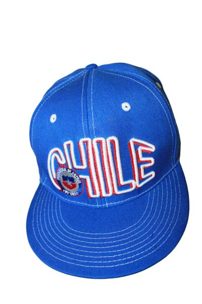 CHILE BLUE SNAPBACK FIFA SOCCER WORLD CUP HIP HOP HAT CAP .. NEW