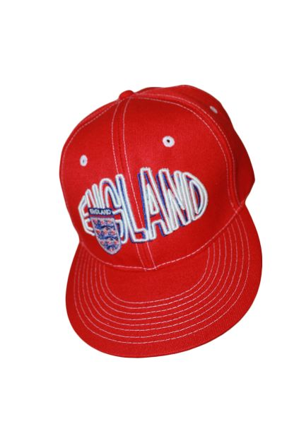 ENGLAND RED SNAPBACK FIFA SOCCER WORLD CUP HIP HOP HAT CAP .. NEW
