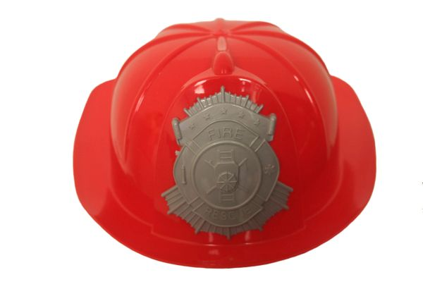 KIDS CHILD'S PLASTIC TOY FIREMAN HELMET