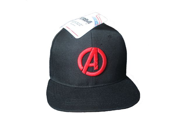 A BLACK HIP HOP HAT CAP .. AVENGERS MARVEL