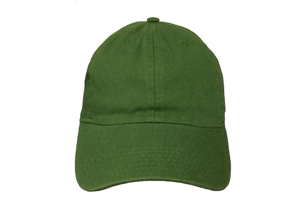 DARKGREEN PLAIN HAT CAP .. NEWHATTAN