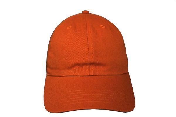 RUST PLAIN HAT CAP .. NEWHATTAN