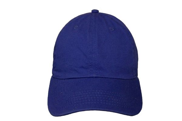 ROYALBLUE PLAIN HAT CAP .. NEWHATTAN