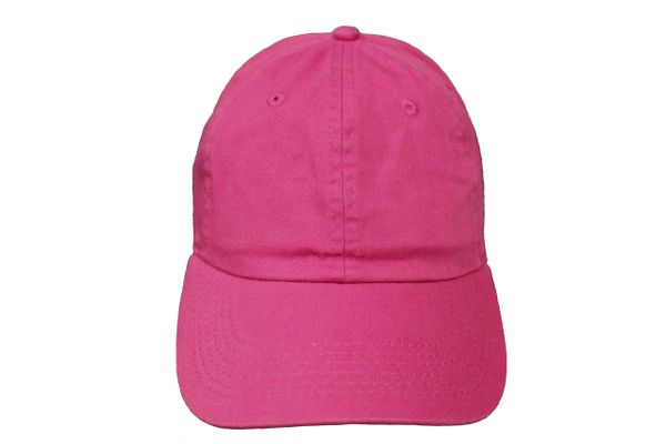 MAGENTA PLAIN HAT CAP .. NEWHATTAN