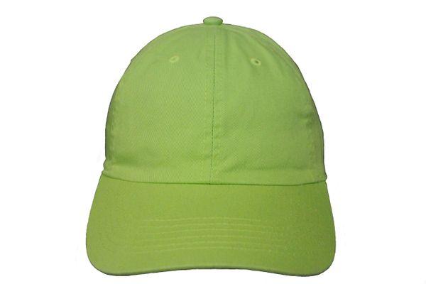 LIMEGREEN PLAIN HAT CAP .. NEWHATTAN