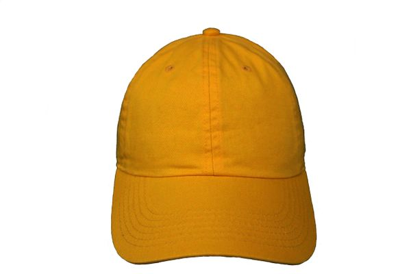GOLD PLAIN HAT CAP .. NEWHATTAN
