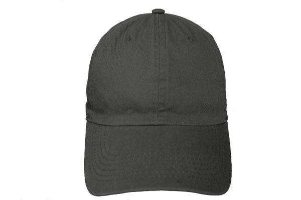BLACK PLAIN HAT CAP .. NEWHATTAN