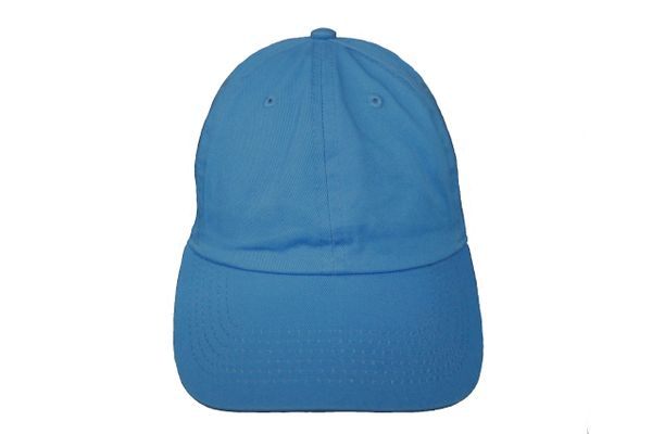 BLUE PLAIN HAT CAP .. NEWHATTAN