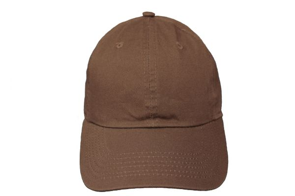 DARKBROWN PLAIN HAT CAP .. NEWHATTAN