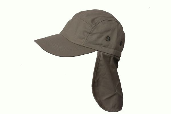 KHAKI FISHING HAT CAP With Sun Protection
