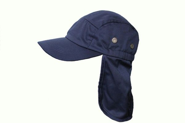 NAVY FISHING HAT CAP With Sun Protection