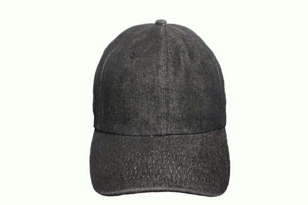 BLACK DENIM HAT CAP .. NEWHATTAN