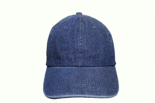 DARKBLUE DENIM HAT CAP .. NEWHATTAN