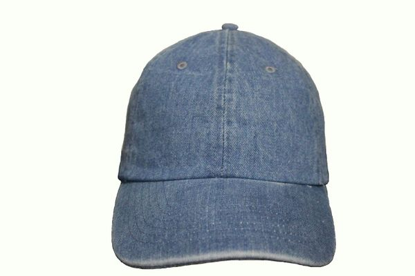 LIGHTBLUE DENIM HAT CAP .. NEWHATTAN