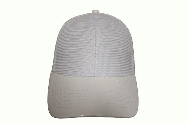 WHITE MESH TRUCKER Hat Cap .. NEWHATTAN