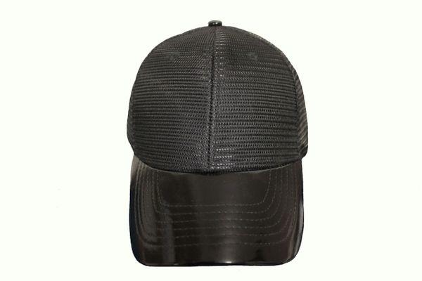 BLACK MESH TRUCKER Hat Cap .. NEWHATTAN