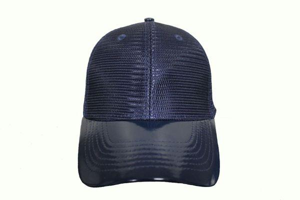 NAVY MESH TRUCKER Hat Cap .. NEWHATTAN