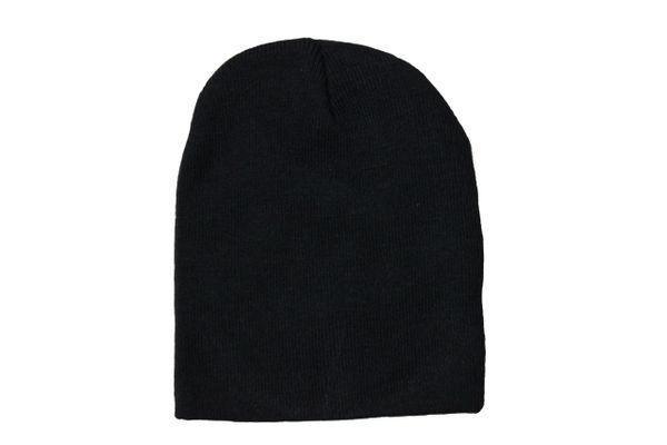 BLACK TOQUE HAT .. QUIRINUS .. Style : SG1236B