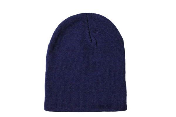 NAVY TOQUE HAT .. QUIRINUS .. Style : SG1236B