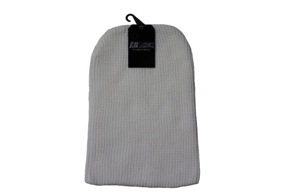WHITE Slouchie TOQUE HAT .. KBETHOS .. Style : KBW - 12