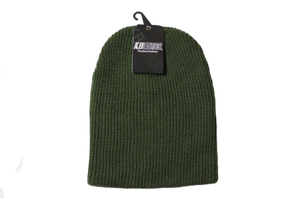 GREEN Slouchie TOQUE HAT .. KBETHOS .. Style : KBW - 12