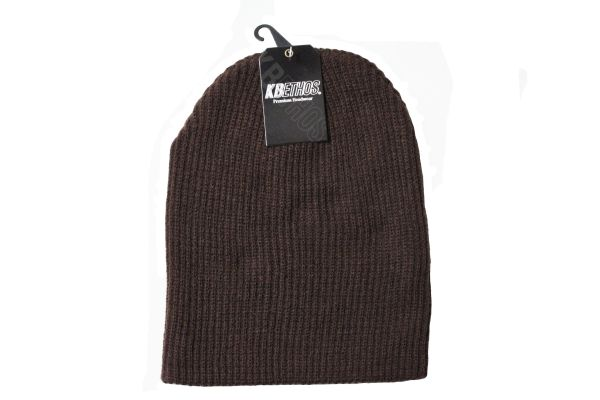 BROWN Slouchie TOQUE HAT .. KBETHOS .. Style : KBW - 12